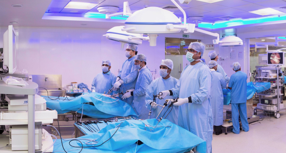 Dedication Commitment towards hands-on training in Minimal Access Surgery