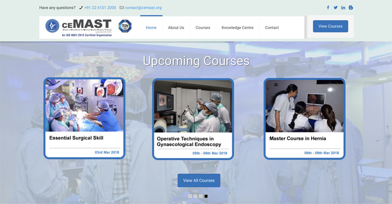 CEMAST Announces the launch of our new website!
