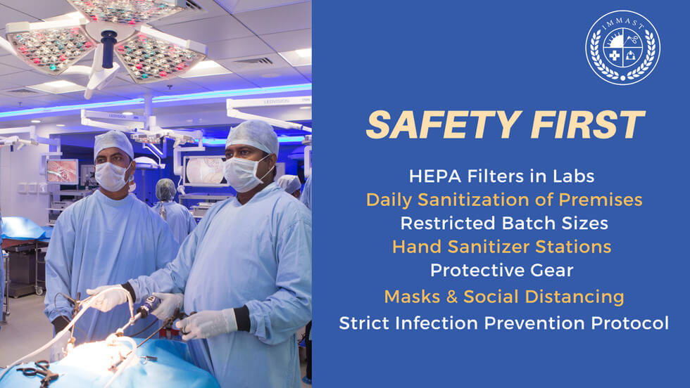 IMMAST Safety First protocols